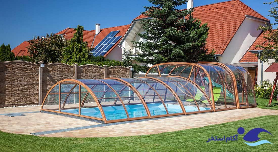 سایبان استخر و لذت شنا در طول سال