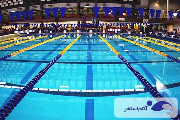 عکس و تصویر استخر مسابقات و المپیک