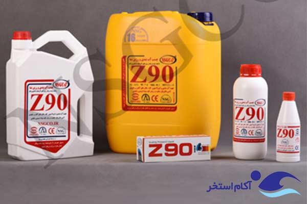 عکس چسب آب بندی استخر Z90
