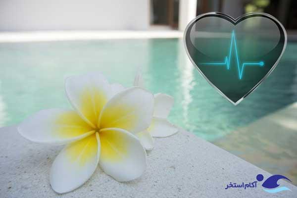 عکس بهبود سلامت قلب و عروق با شنا