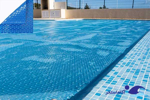 عکس کاورهای خورشیدی گرمکن آب استخر شنا