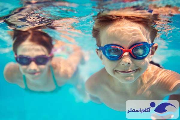 عکس تمیزی آب استخر شنا