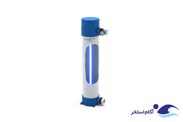 عکس دستگاه تصفیه آب فرابنفش UV استخر شنا