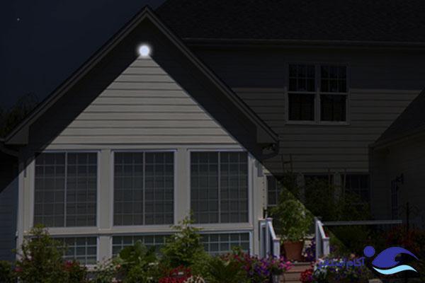 عکس نمونه روشنایی پروژکتور