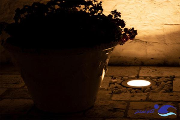 نمونه چراغ های دفنی و زمینی